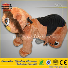 Walking animal ride for kids and parents/plush lion animal ride for sale