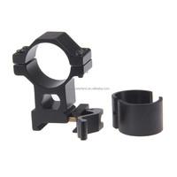 Funpowerland 25.4mm/ 30mm High Ring 20mm Weaver Picatinny Rail QD Quick Release Scope Mount