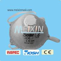 EN149 N95 mould chemical respairtor mask /printing neoprene face mask