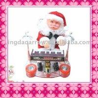 Funny Moving Santa Claus