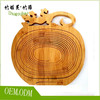 Environmental protection cabrite design bamboo fruit basket