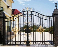 2015 High Quality cheap wrought iron gates Garden Gate