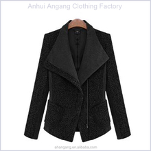 2015 fashion women woolen coat