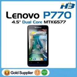 """Original Lenovo P770 4.5"""" IPS Screen Android OS4.1 Lenovo Smart Phone 1.2GHz Dual Core P770 Dual Sim Dark Blue"""