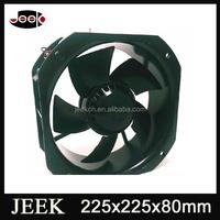 225mm dc 24 volt blower fan