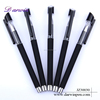 Office Promotion Black Plastic 0.5mm Gel Pens Wholesale