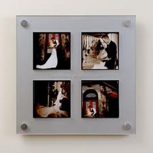 New Haning Type Acrylic Photo Clip Display Picture Showcase Frame