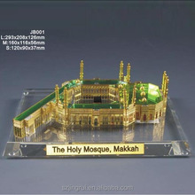 mini crystal mosque makkah model JB001