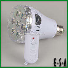 2015 Remote control emergency light,Best sale 3.5W E27 Rechargeable LED Emergency Light,Emergency Led Lamp With CE RoHS G05C110