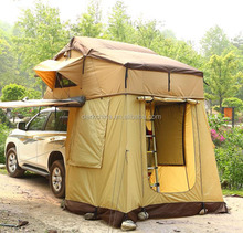 roof top auto camping canvas tent