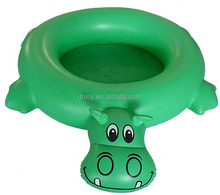 green inflatable cartoon swimming pool for kids