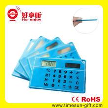 New promotional 8 digit ultra-thin card calculator &ruler calculator