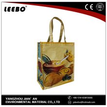 Long fibers or short nonwoven fabric polyester foldable shopping bag