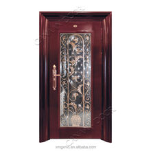 small office building design imitated copper used exterior door