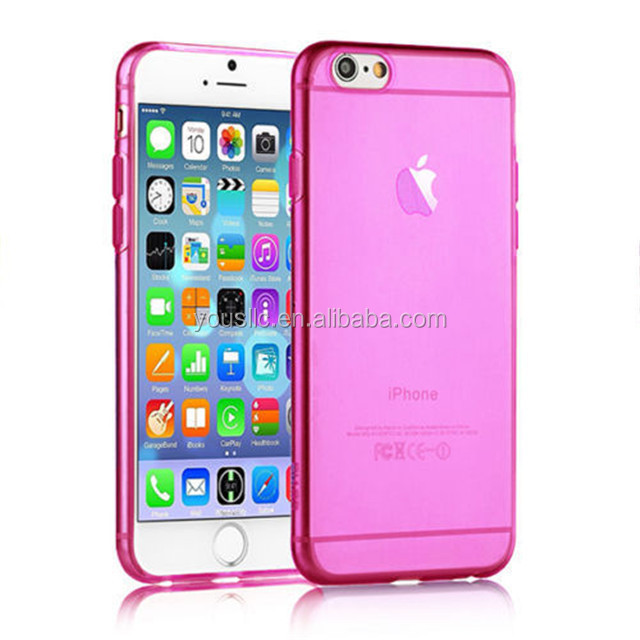 [hot] Good Quality Ultra Thin Soft TPU Case for Iphone 6 plus