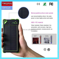sun solar charger 8000mAh poular solar battery charger solar power bank for iPhone/iPad/all smartphones and tablets