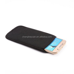 Hot Selling accessories Neoprene Pouch Bag shock absorber case for iphone 4 4s 5 5s