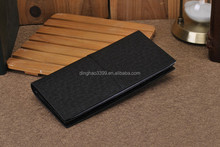 Design Men Genuine Leather Purse BLack Alligator Men's Brand Name Long Wallet Men