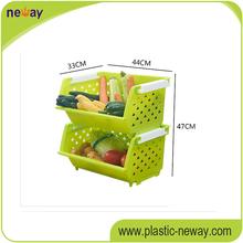PP Good quality custom cheap wall mounted plastic storage box