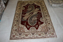 new pattern fashion persian prayer rug handmade silk carpets hand knotted pure silk rug