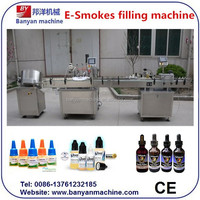 YB-G50D 10ml bottle e liquid filling and capping and labeling machine