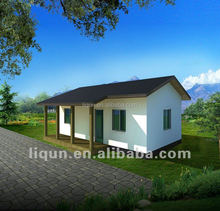 2015 china beijing garden prefab house in quality cheap