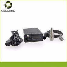 Digital d nail e nail heating coil temperature control box with gr2 titan nail and carb cap ,accept Paypal.