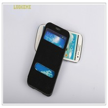 Hot Selling Leather Flip Case for iPhone 4 PU Case for Apple/iphone 4s