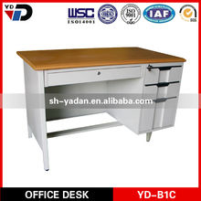 4 drawers wooden desk furniture office school hotel furniture