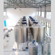 Gljb-01-5000 alta calidad en acero inoxidable producto líquido de mezcla de la máquina con agitador