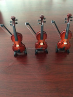 Musical instrument Mini Violin for Christmas gift