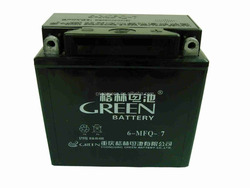 Green brand 3wheel motorcycle battery
