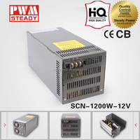 DC Regulated 1200W AC 100-240V 12v 100a switching mode power supply