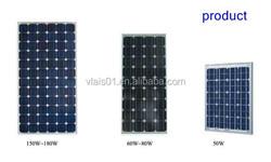 80W High Efficiency Polysilicon Solar Panels