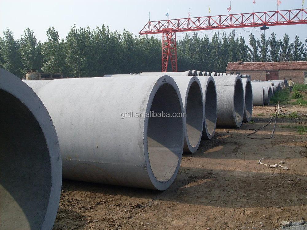 Concrete Drain Pipe : Good price concrete culvert pipe machine vertical