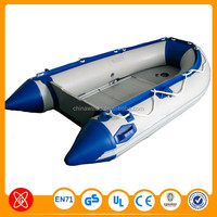 Newest professional PVC water games inflatable boat catamaran