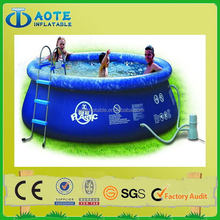 Colorful best sell latest inflatable pool slide for fun