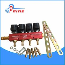 Auto gas fuel vehicles lpg gpl lng cng CAR RAIL sequential injection NGV conversion kits 1--8 cylinder CNG/LPG RAIL gnv injector