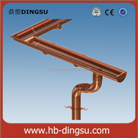 Copper Roofing Gutter and Fittings
