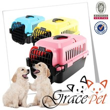 Plastic Pets Kennel with Chrome Door