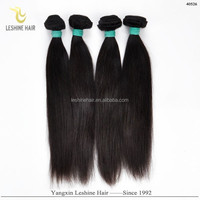 2015 Hot Selling Good Feedback Unprocessed Full Cuticle No Shedding No Tangle Dyeable biles pour ralonge