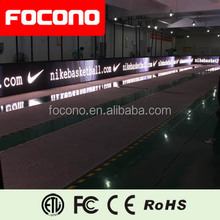 basketball stadium indoor and outdoor use Q16 LED perimeter with focono brand