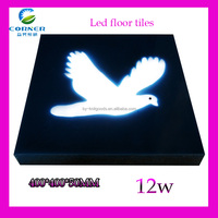 2014 new design led ceiling tile 400*400mm 12w IP65 with blue/green/white color