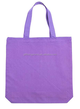 factory price popular hot selling fashion green cotton tote bag for kids for wholesale