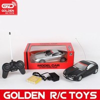New arrival 1:18 4-ch rc model car with 2 colors for sale