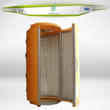 home use vertical tanning bed with 48pcs Germany UV lamps