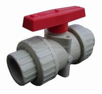 water ball valve plastic material