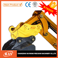 China factory hydraulic quick attach 3 point hitch for excavator