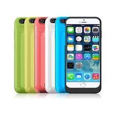 Leather Flip Battery Charger Case For iPhone 6,For iPhone 6 Case Charger