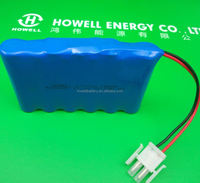 18650 Lithium Ion Battery 12v 5200mAh with CE,UL,UN38.3 approval
